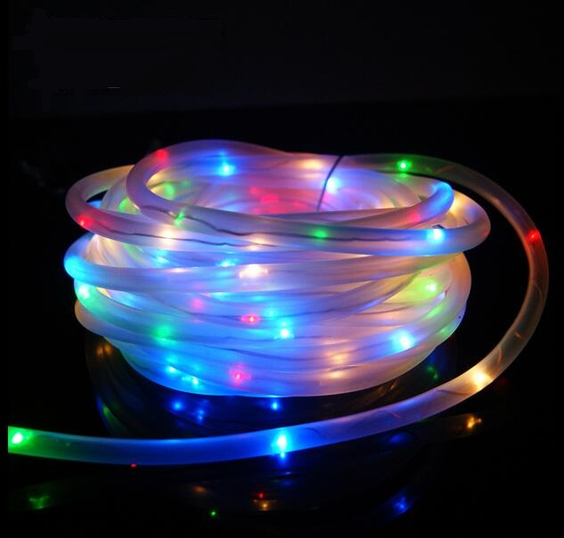 Multi Color 7m 50leds Solar Led String Lights Waterproof Outdoor Rope Ed Fairy