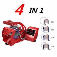 ST-430 4 in 1 Mug Press Sublimation Machine Mugs for 6oz/9oz/11oz/12oz Cups Print