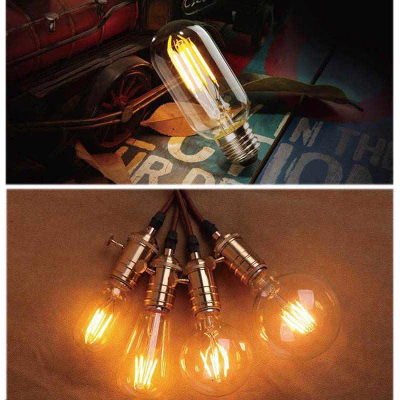 GreenEye haute luminosité E27 E14 LED Ampoule Vintage Edison lampe à LED 220V rétro verre LED Filament Ampoule lumière bougie projecteur Ampoule