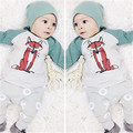 Baby Sets Children Infant Clothing 3pcs Infant Boy Girl Toddler Clothes Cartoon Fox T-shirt+Pants Hat Outfits Clothing Set