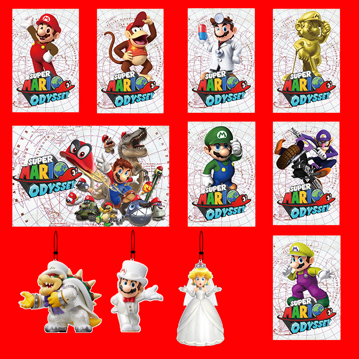 NFC Amiibo Card Printing Card For Super Mario Odyssey-10PCS