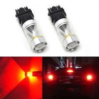 2 stücke 3157 Bright Red 30 Watt High Power XPE Auto LED Bremslicht Stop Lampen 3047 3457 DXY88