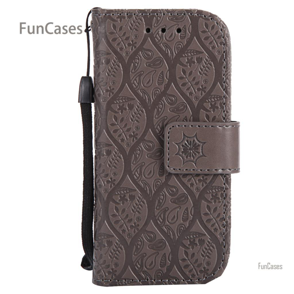 Vine Emboss Flip Case sFor Coque Nokia 3310 PU Leather Back Cover Cell Patterned Back Ca ...