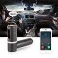 MP3 Player Do Carro transmissor FM kit Mãos Livres Bluetooth Auto Rádio FM Sem Fio Adaptador com Carregador USB Novo Deixar Cair O Transporte