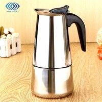 Durable Quality 450ml 9 Cups P Ercolator Stove Coffee Maker Moka Espresso Latte Pot Pure Taste