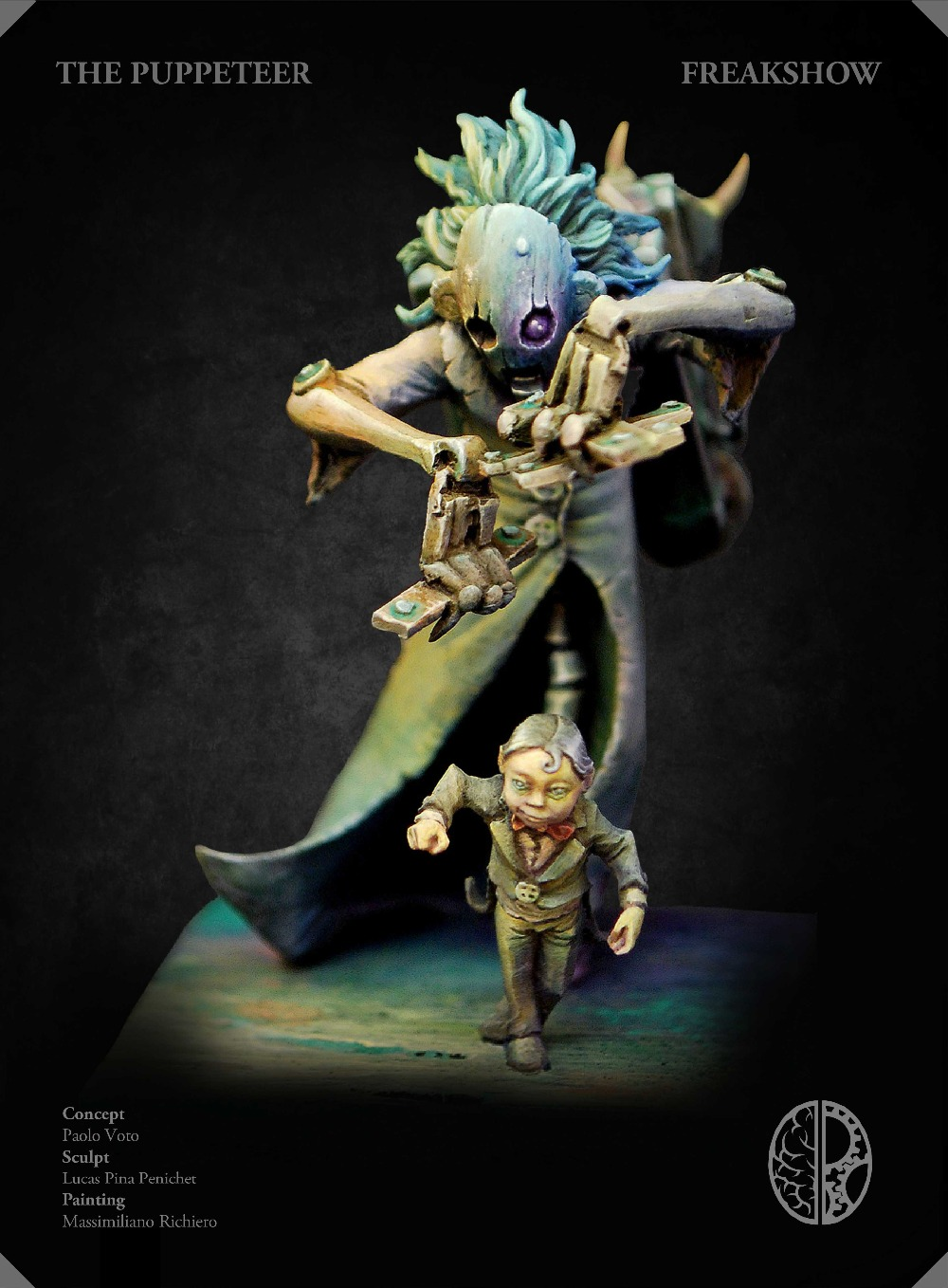 Loong Way Miniatures] Kimera Models The Puppeteer 54mm Resin