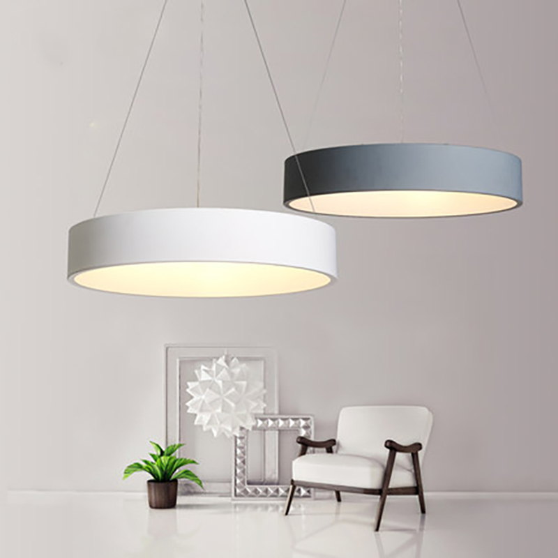 Postmodern Simple Modern Office Chandelier Nordic Creative Bedroom Study Living Room Restaurant LED Round Chandelier european restaurant crystal chandelier simple ball bedroom modern simple led creative living room lighting dining room