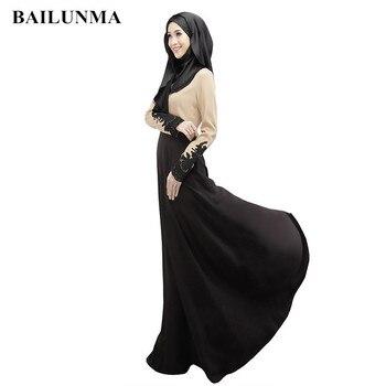 86f5112657840b4 2019 женские мусульманские платья шифон Ткань dubai abaya турецкие платья  мусульманская одежда, исламские платье Абаи Дубайский хиджаб B8007