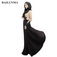 e72f299b5d96f3 2019 Moslim jurk vrouwen Chiffon dubai abaya stof turkse jurken moslim  kleding islamitische jurk Abaya dubai