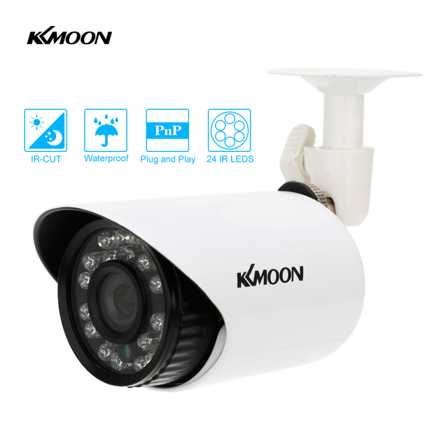 KKmoon 700TVL CCTV Camera Waterproof IR CUT Day/Night Vision Home ...