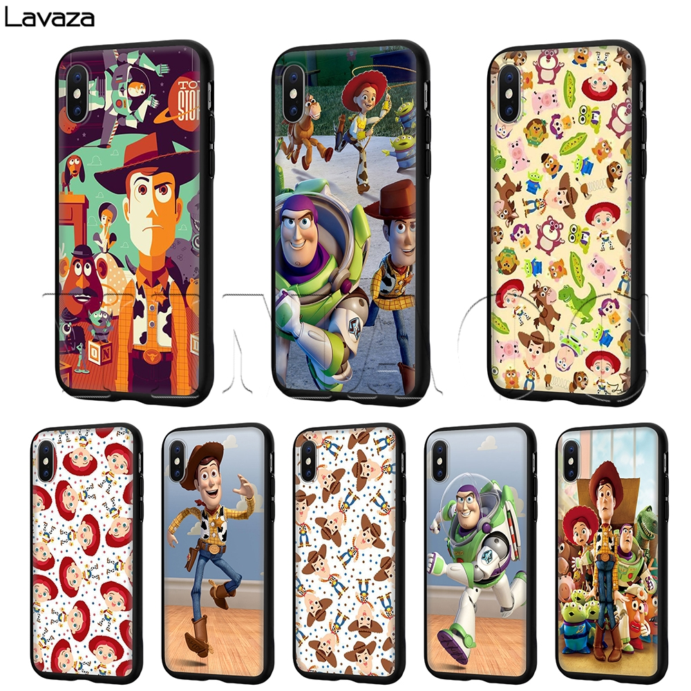 Lavaza <font><b>Toy</b></font> <font><b>Story</b></font> Case for <font><b>iPhone</b></font> 11 Pro XS Max XR X 8 7 <font><b>6</b></font> 6S Plus 5 5s se image