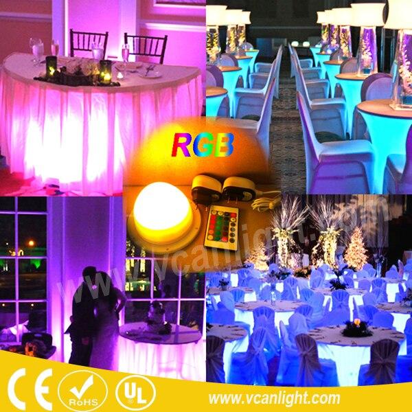 Best качество DHL Быстрая доставка праздничный под столом освещения для проведения свадеб vc-l120