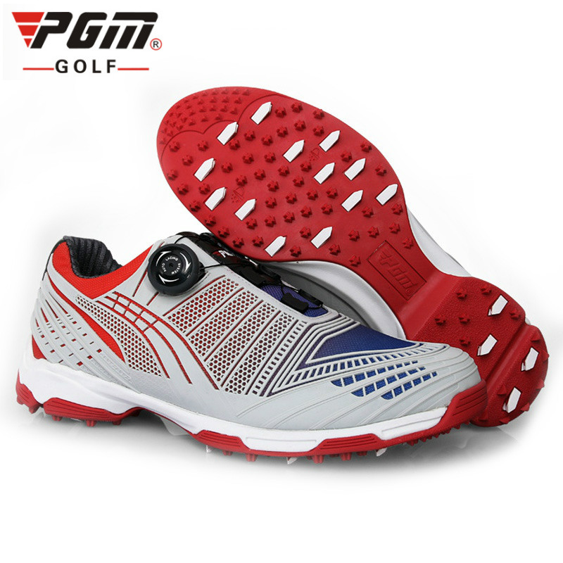 PGM golf shoes mens shoes golf shoes knob buckle shoelace breathable comfortPGM golf shoes mens shoes golf shoes knob buckle shoelace breathable comfort
