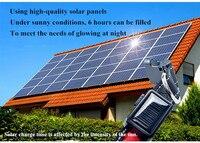 FD38 Pet Dog Collar Solar Light Emitting Collar USB Charge Dog Collar High Quality Free Shipping