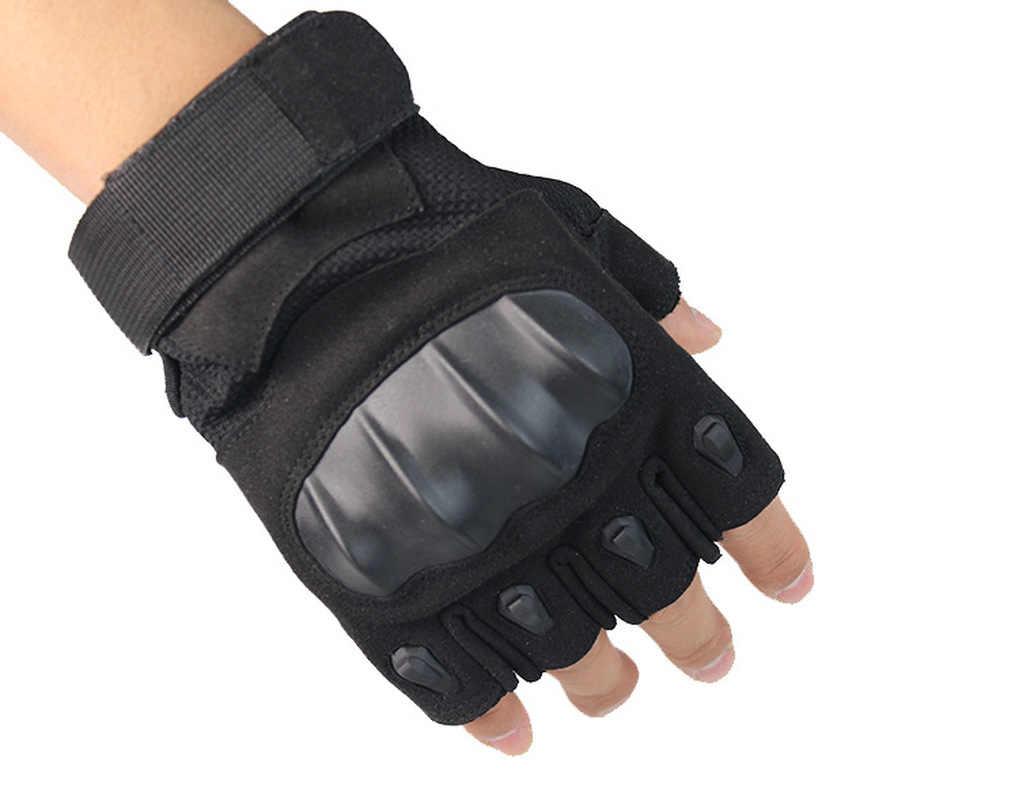 Militärische Taktische Handschuhe Armee Outdoor Airsoft Paintball Schießen CS Ausbildung Kampf Schlacht Fitness Anti-slip Handschuhe Halb Finger