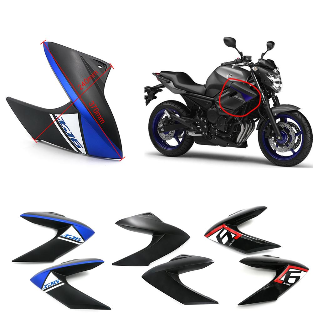 Motorcycle Accessories Front Side Panels Fairings Injection For YAMAHA XJ6 XJ 6 XJ-6 2009 - 2012 Cover Guard Protector Bodywork