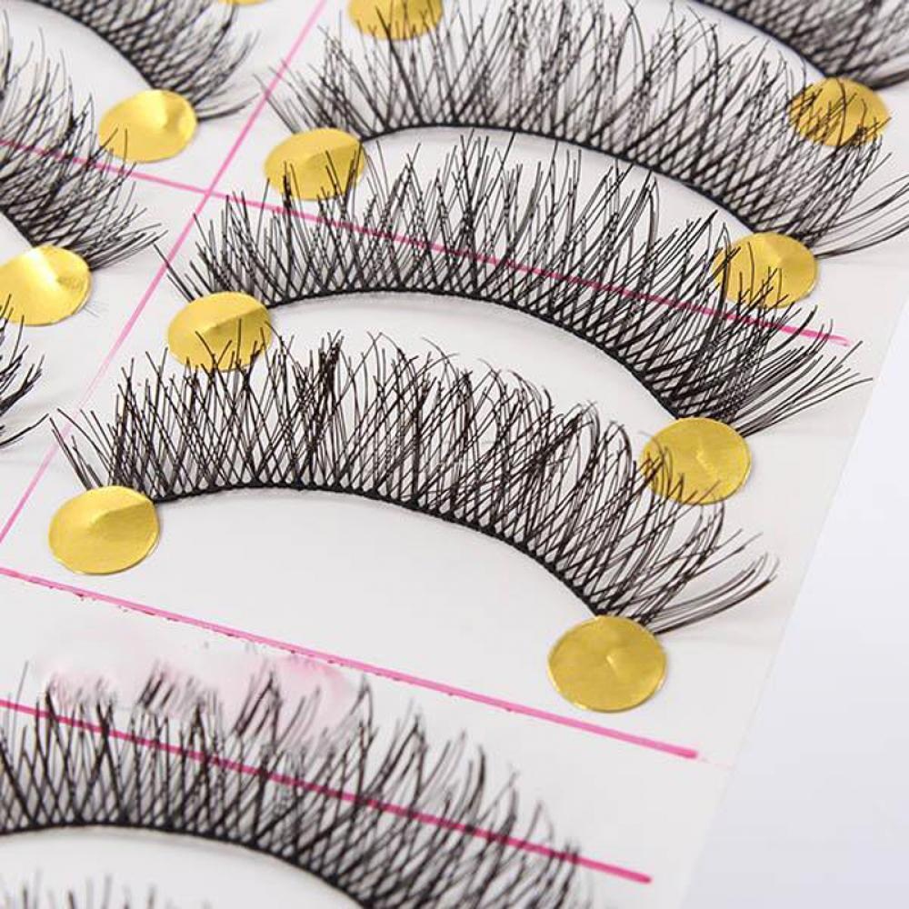10pair Pure Hand lashes Soft Natural Thick lashes 3D Three Dimensional Tools lashes massage in Massage Relaxation from Beauty Health