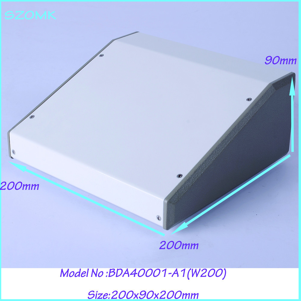 (1pcs )200x90x200mm iron box amplifier enclosure steel white extrusion diy industrial metal box enclosures 1pcs 150x300x450mm aluminum extrusion enclosure box instrument enclosure box pcb out let enclosures