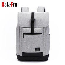 HeloFrn College Student Backpack Men Women Bags Large Capacity Women Canvas Backpack For Laptop Male Teenager Travel Mochila