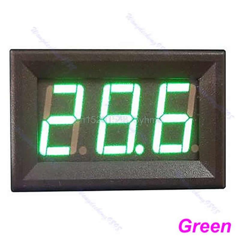 """DC0-10A """"Ampere"""" LED stiprintuvo skydo matuoklis 3 bitų ekranas, - Matavimo prietaisai - Nuotrauka 2"""