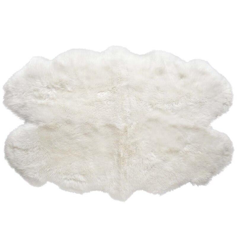 1.2*1.8 m Jackson 100% naturel véritable peau de mouton tapis réel animal couverture de fourrure pour salon chambre tapis pour hôtel décoration