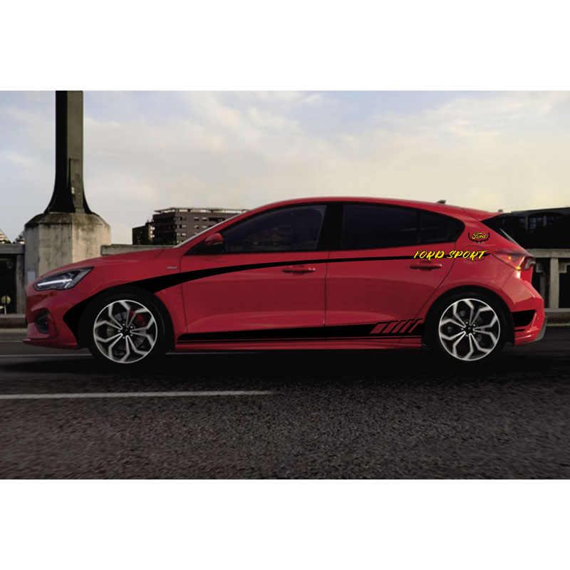TAIYAO voiture style sport voiture autocollant pour Ford 2019 focus ST RS voiture accessoires et décalcomanies auto autocollant