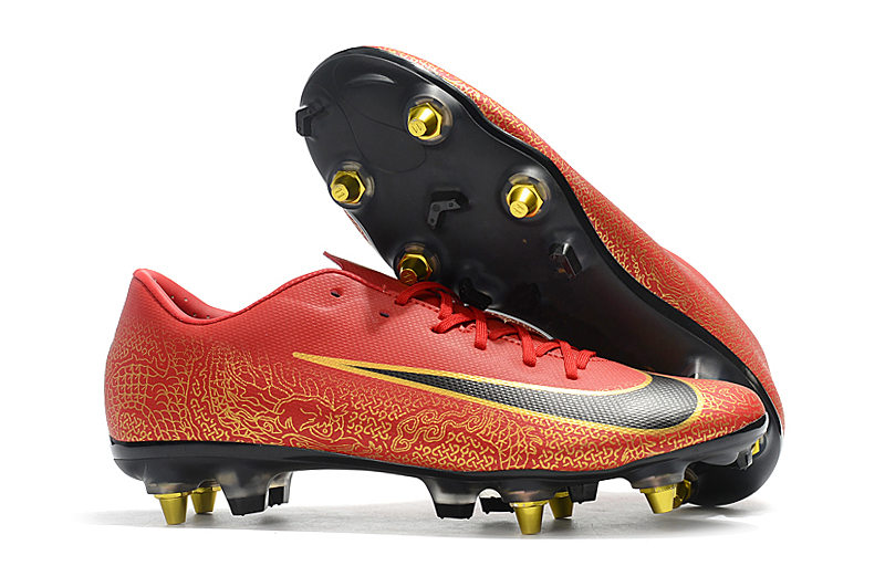 Cheapest Price ZUSA Superfly VI Elite SG PRO-ACC Football Boots Mens High ankle SG Soccer Shoes Sales US6.5-US12
