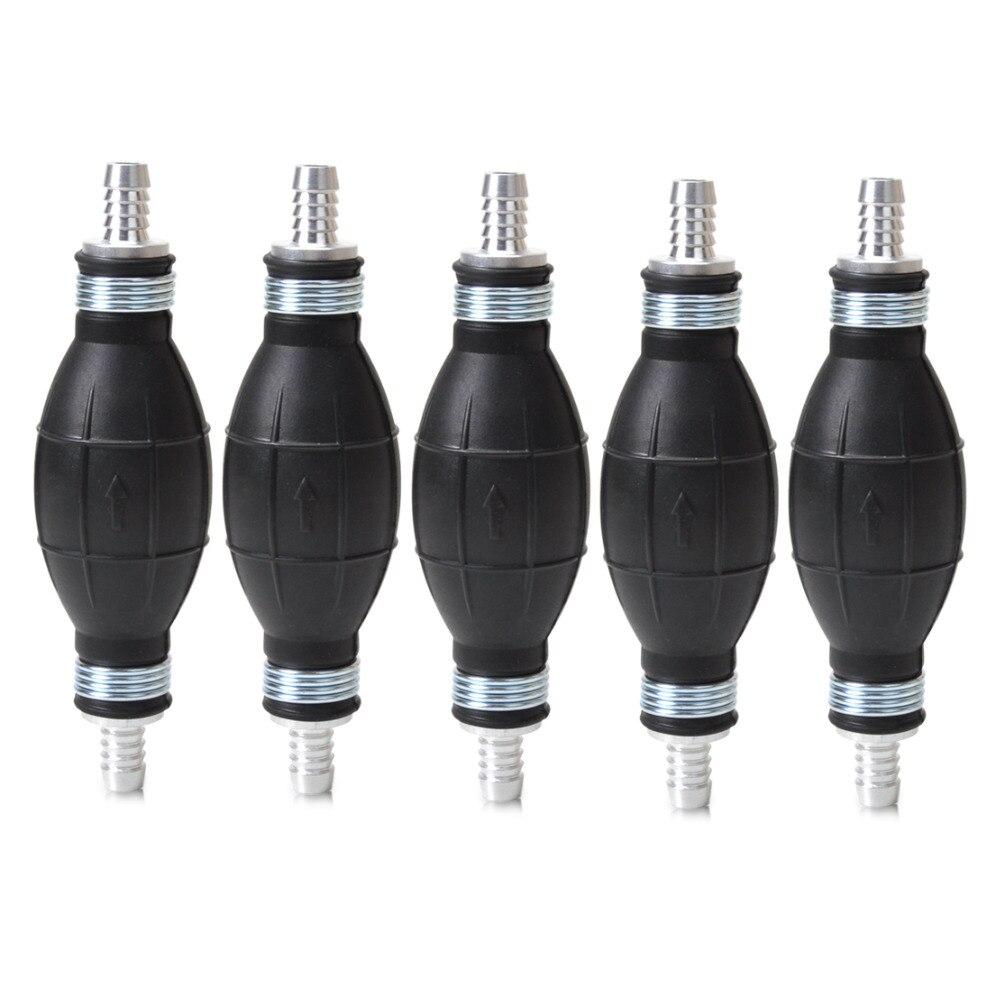 beler 5pcs Rubber Pump Hand Primer Bulb 10mm For Boat Kart karting Cargo Marine Fuel Diesel 9001080A for VW Audi Nissan Hyundai
