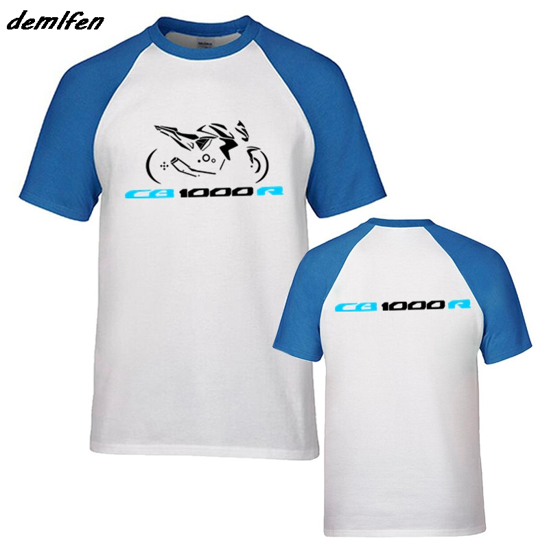 ea894ea5d96 New Fashion Casual Men Raglan sleeve Cotton T-shirt Motorcycle CB1000r  Tshirt CB 1000 R