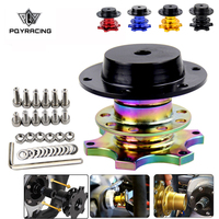 Free Shipping Steering Wheel Quick Release snap off hub adapter Car Steering Wheel Hub Boss Kit Universal PQY 3859