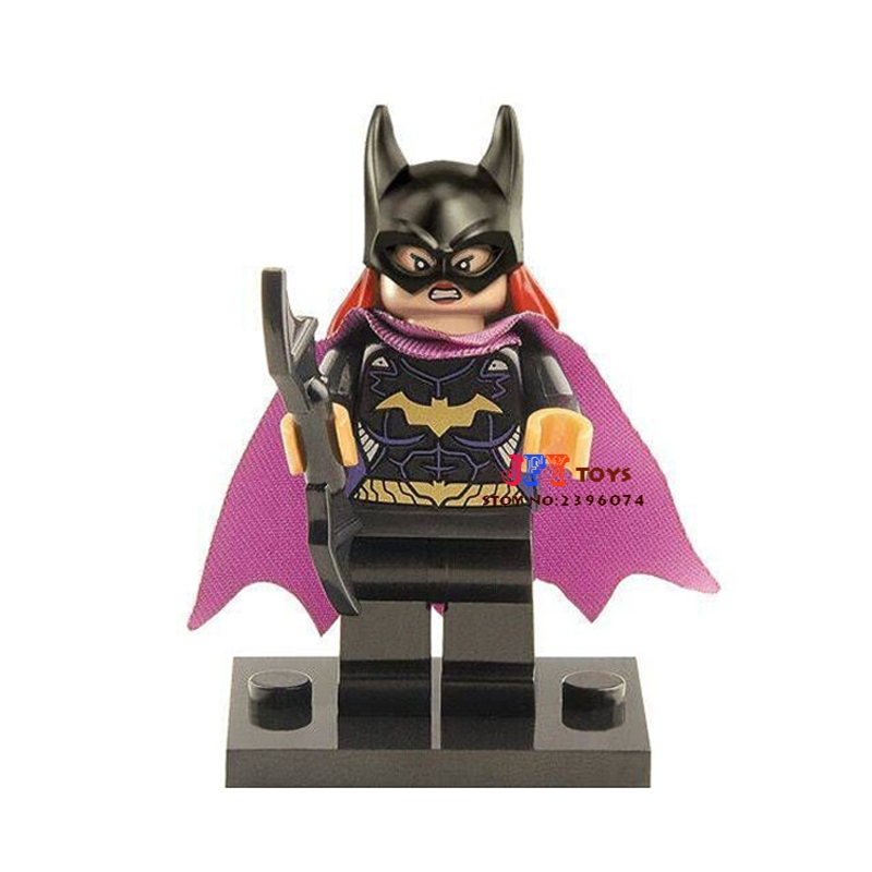 Single Sale star wars superhero marvel Batgirl building blocks model bricks toys for children brinquedos menino loz super mario kids pencil case building blocks building bricks toys school utensil brinquedos juguetes menino jouet enfant