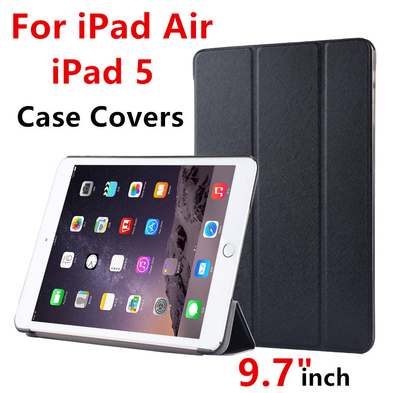 Case For Apple iPad Air Protective Smart cover Protector Leather PU Tablet For iPad Air 1 iPad 5 Sleeve cases Covers 9.7 inch for apple ipad air 2 pu leather case luxury silk pattern stand smart cover