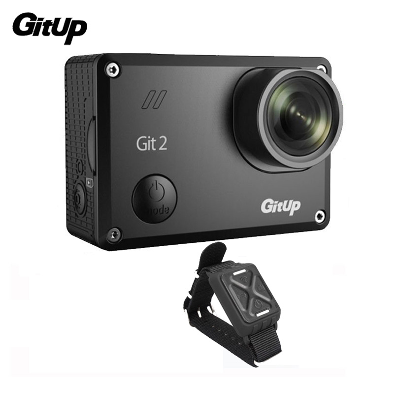 Gitup Git2 Onderwater Camera Novatek 96660 Outdoor Sports Cam WiFi 2K 1080PFull HD Action Camera+Wrist Remote Control