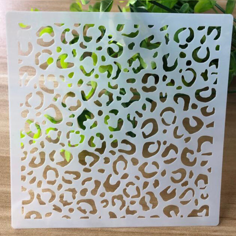 Openwork Stencil Painting Template Embossing DIY Craft Bullet Journal Accessories Sjablonen For Scrapbooking Decoration Reusable