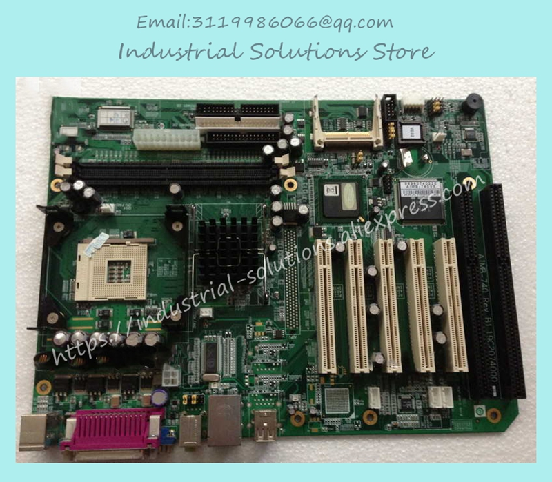 Industrial Motherboard Atx Motherboard Isa PCI Agp Control AIMB-740  100% tested perfect quality