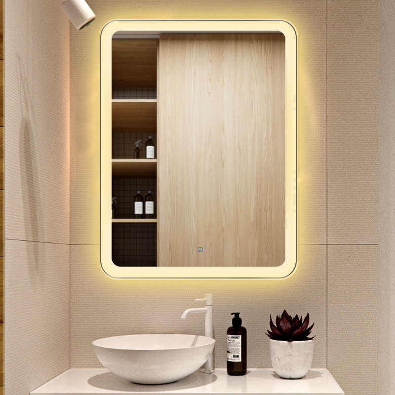 Led Touch Screen Bathroom Mirror Hd