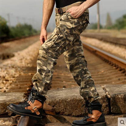 435659096cf V JEAN Outdoor Men s Vintage Hunting Camo Pants with Cargo Pockets plus size  29 38 gym pants men-in Casual Pants from Men s Clothing on Aliexpress.com  ...