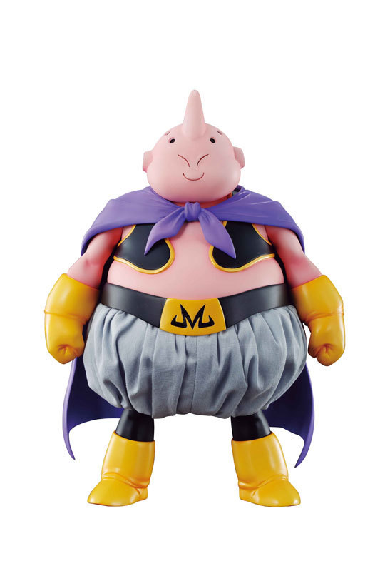 ФОТО Anime Figure 22cm Dragon Ball Z Majin Buu Real Clothes PVC Action Figure Toys Model Collectibles