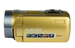 Winait remoter control HDV-F2 digital video camera with beauty face 270 degree rotation screen