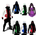Adult size Assassins Creed 3 III Conner Kenway Hoodie Coat Jacket Assassin's Creed Cosplay Costume XS-5XL Free shipping E1081