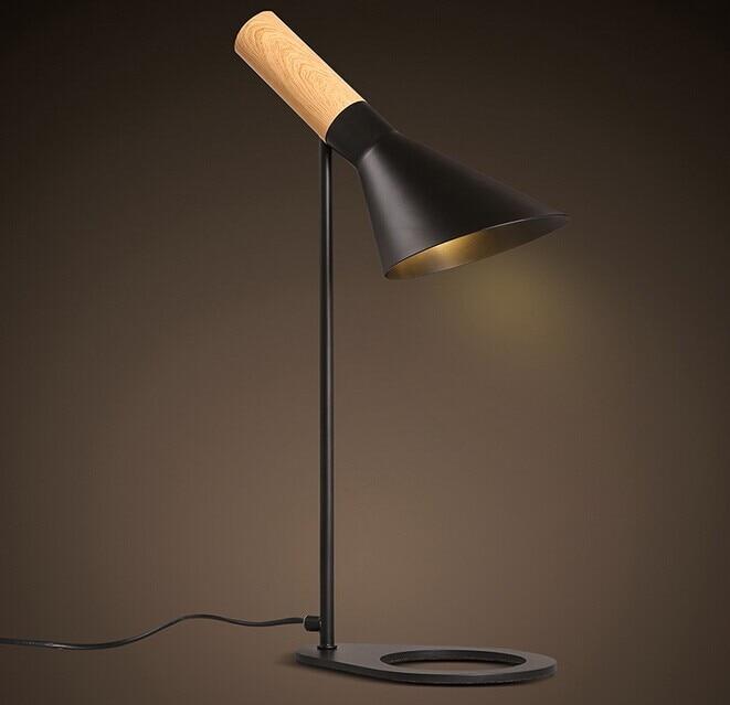 Lighting Pattern: Modern Desk Light Reading Lamp With Wood Pattern Arne