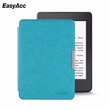 цена на Easyacc Case for Amazon Kindle Paperwhite 1 2 3  Leather Case for Kindle Paperwhite 6 inch Tablet Shell With Sleep&Wake Up