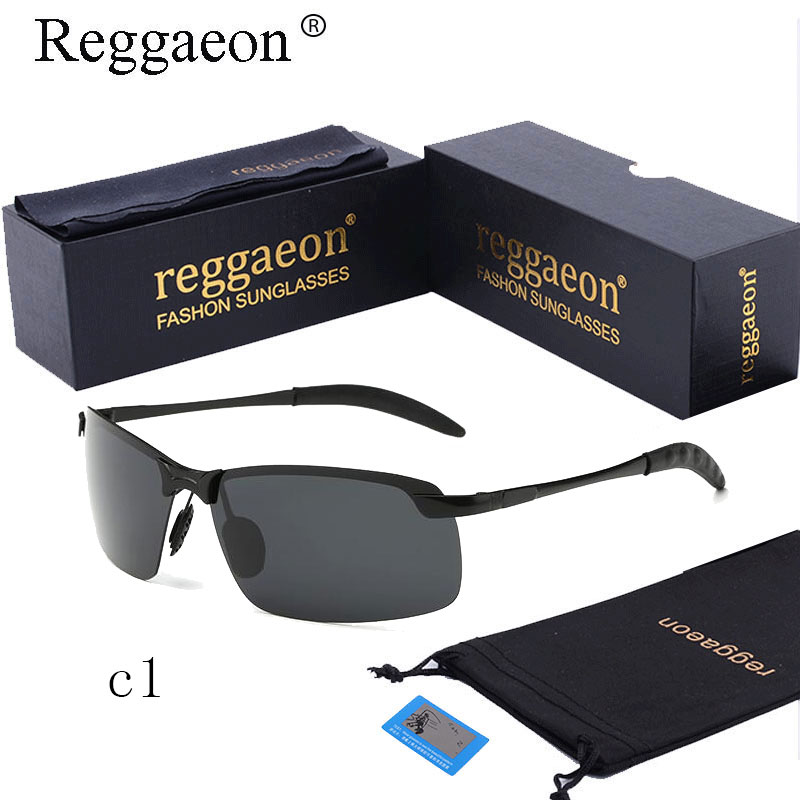 reggaeon 2018 Hot Brand Designer Polarized Men Sunglasses Male Driving Rimless Sun Glases For Women Eyewear oculos de sol Uv400 ...