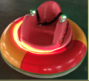 Купить с кэшбэком CE And TUV Approved Exciting Inflatable UFO Style Ice Bumper Car On Ice