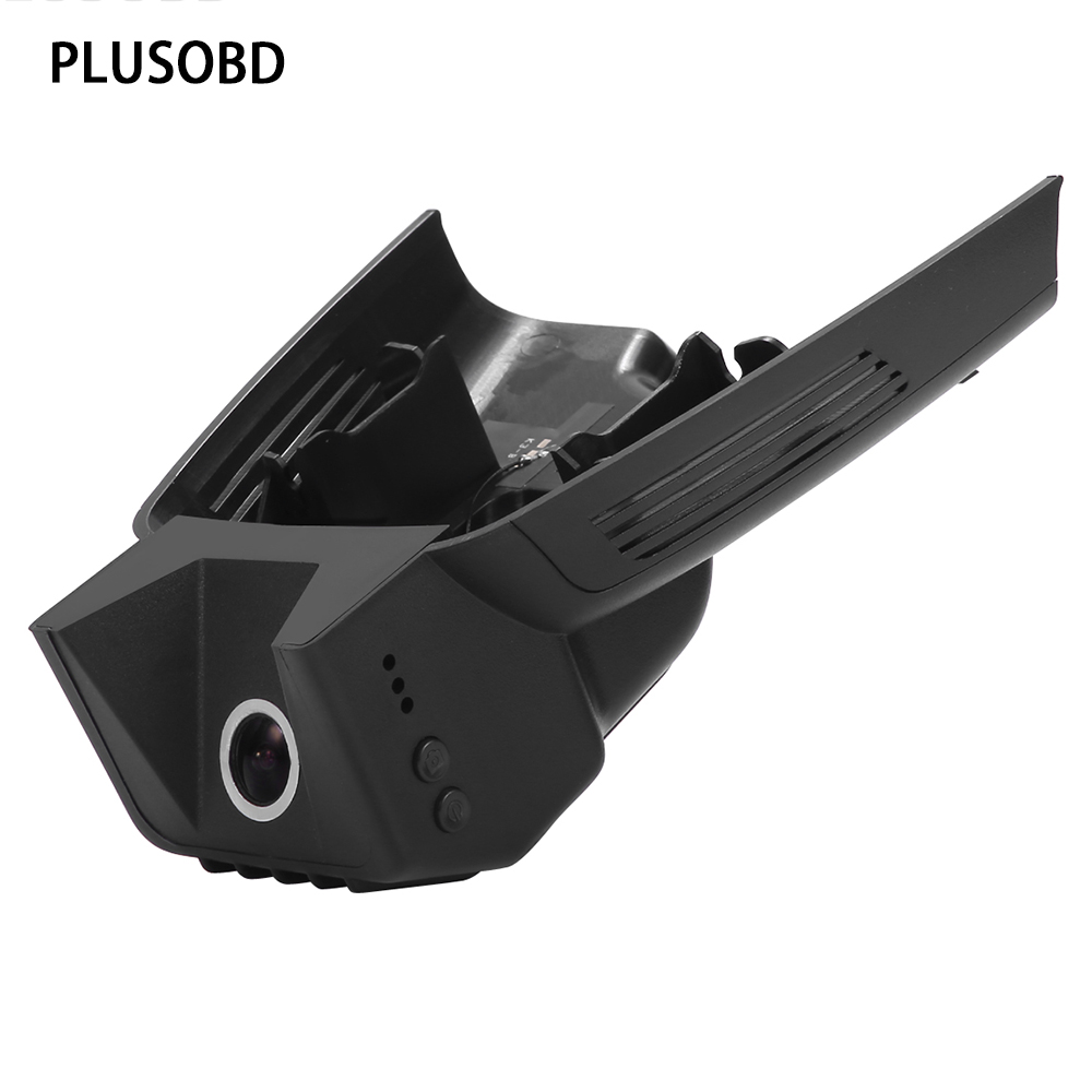 PLUSOBD Vehicle Camcorder For Mercedes Benz GLK X204 Low Configuration Car DVR/Dash Cam/Dash Camera 170 Degree 1080P G-Sensor  free ship camcorder car for mercedes benz s class 2007 12 middle configuration car dvr camera with one lens and obdii adapter