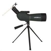20 60x60/25 75x70 Spotting Scope Zoom Monocular Telescope Large Aperture HD Outdoor Observation Waterproof Green Film Telescope