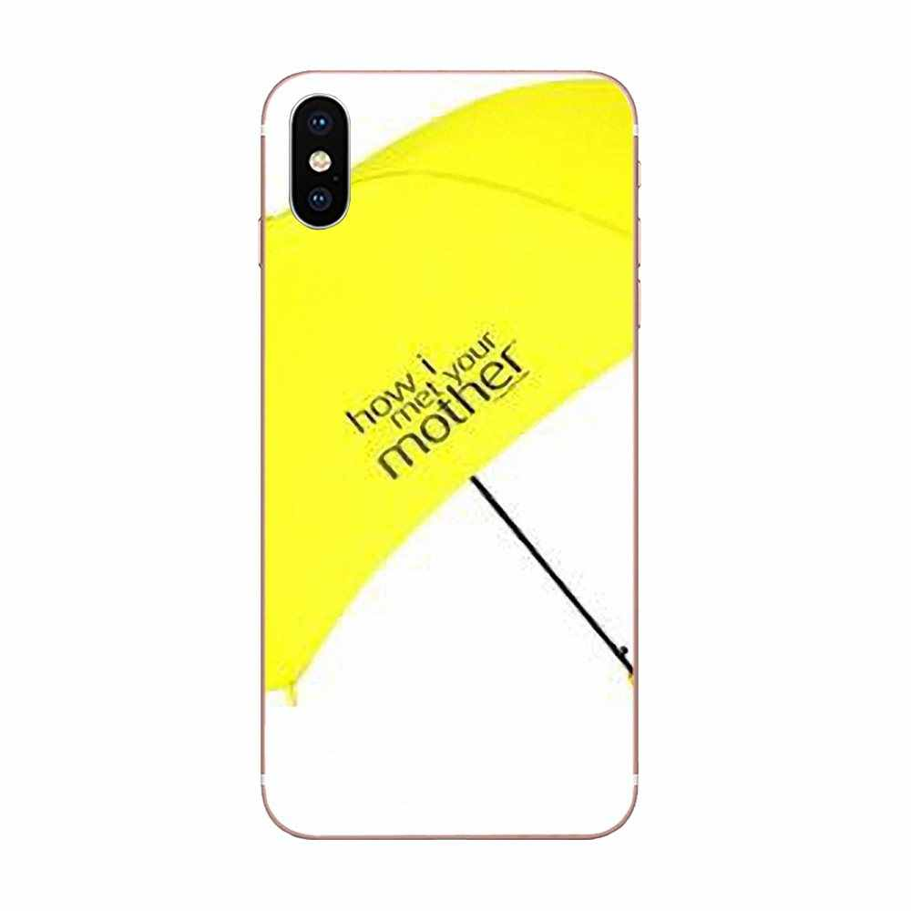 Design How I Met Your Mother Yellow Umbrella For Apple iPhone X XS Max XR 4 4S 5 5C 5S SE 6 6S 7 8 Plus TPU Hot Selling