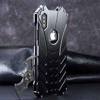 For Apple IPhone 11 PRO X XS MAX XR 5C 5Se 6s 7 8 Plus Case Aluminum Metal Bumper Frame Armor Protective Shockproof Phone Cover