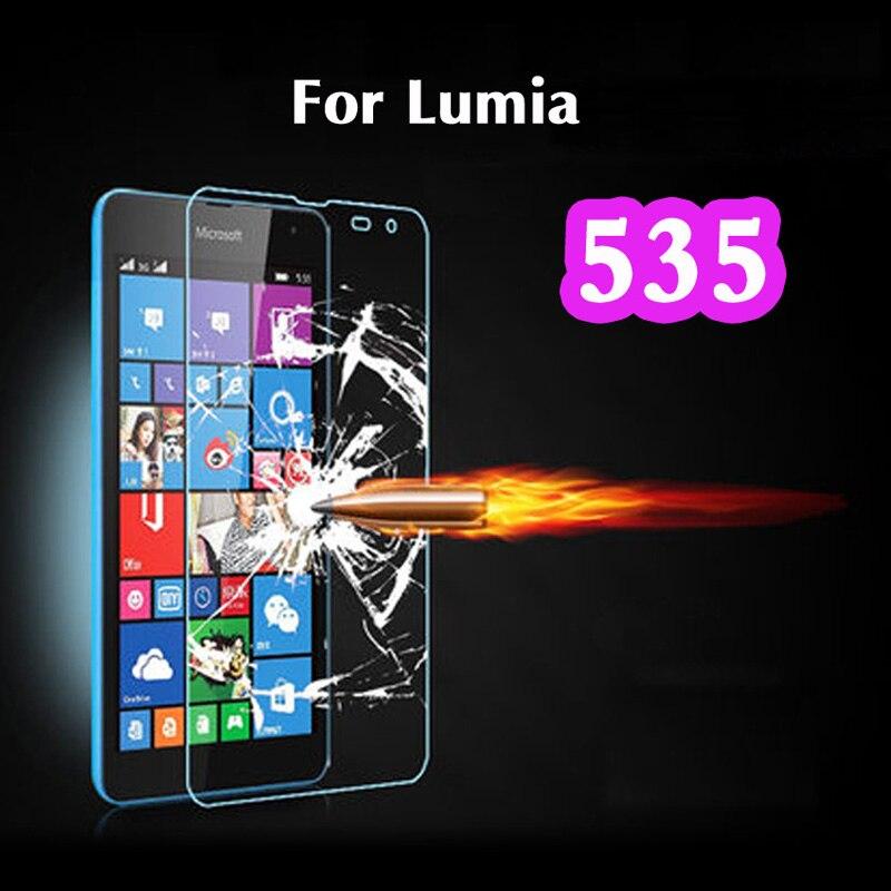 Тонкий 0.3 мм Tuflite Взрывозащищенный Премиум Закаленное Стекло-Экран Протектор Против царапин Для Microsoft Nokia Lumia 535 1090 1089