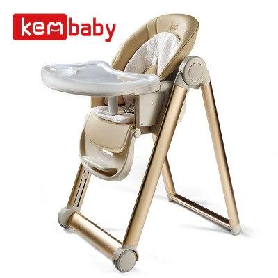 Bébé alimentation à manger chaise enfants manger siège multifonctionnel pliant portable bébé table tabouret apprentissage chaise